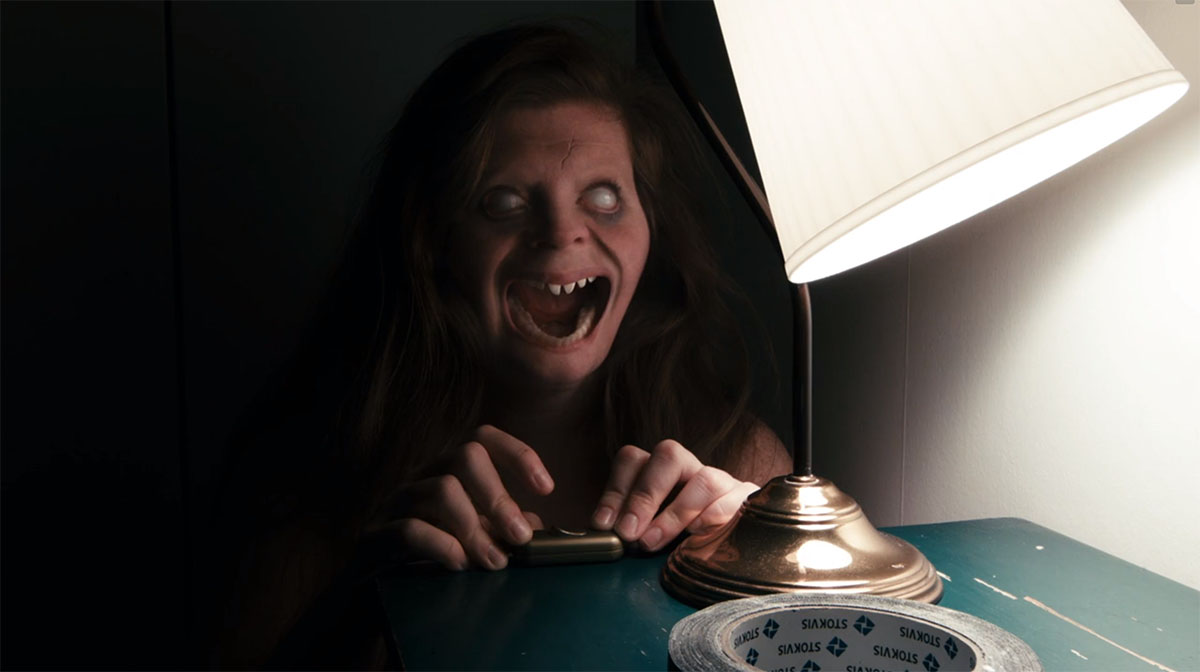 The short film Lights Out (2013)